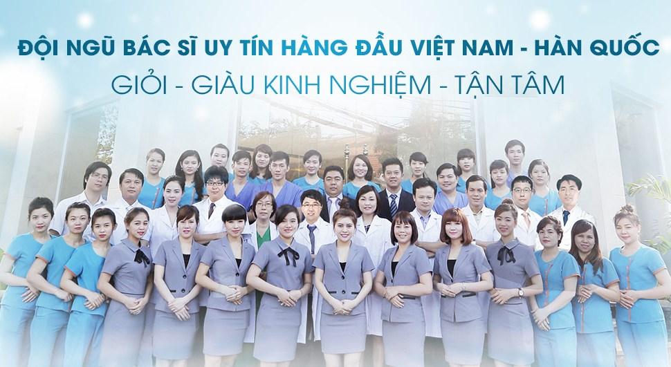Đội ngũ bác sĩ có chuyên môn cao, giàu kinh nghiệm