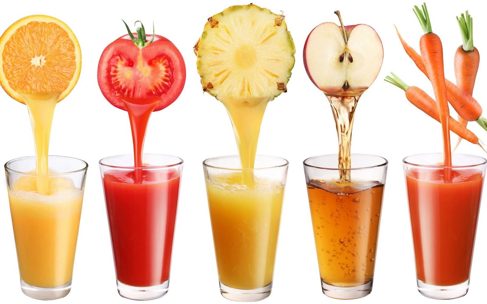 Sinh tố hoa quả cũng là loại thức uống tốt cho vòng 1