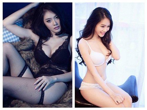 """Hình ảnh sexy của Linh Chi khiến nhiều người phải """"bỏng"""" mắt"""
