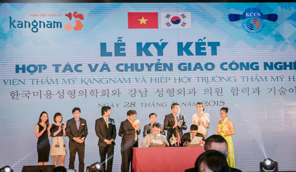 Hợp tác thẩm mỹ Việt Nam – Hàn Quốc