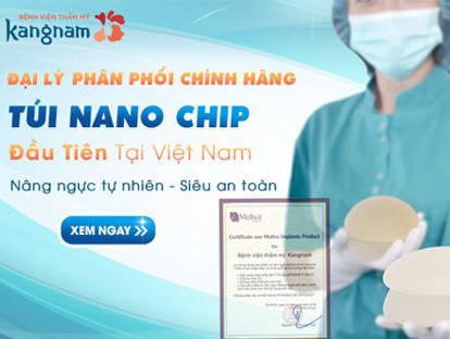 Kangnam là địa chỉ phân phối chính hãng túi độn Nano Chip tại Kangnam1