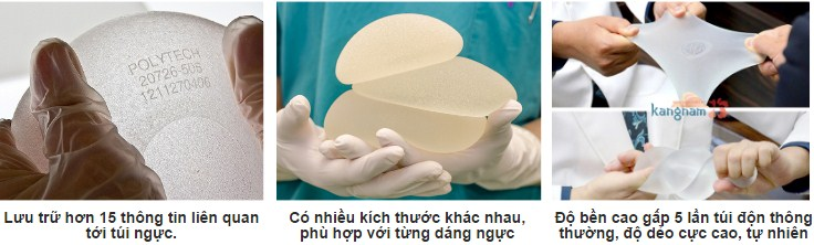 Ưu điểm nổi bật của túi nâng ngực Nano Chip
