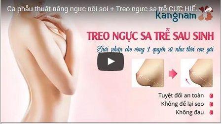 Cận cảnh quá trình nâng ngực chảy xệ tại Kangnam