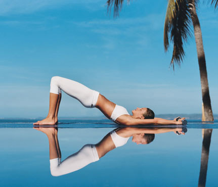 """""""Bật mí"""" 4 bài tập yoga giúp tăng vòng 1 hiệu quả4"""