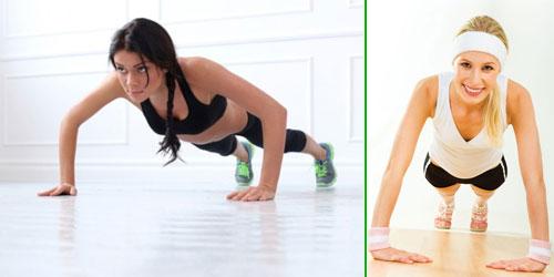 Tập thể dục thường xuyên để có vóc dáng cân đối