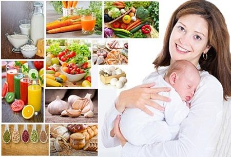 Xây dựng chế độ ăn uống khoa học giúp ngực đẹp sau sinh