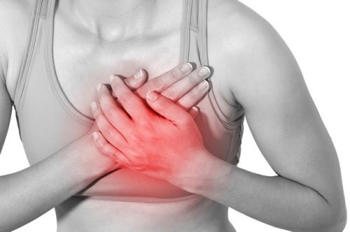 đau ngực đau lưng